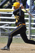 Softball Drops Pair of Close Games to Mount St. Mary's