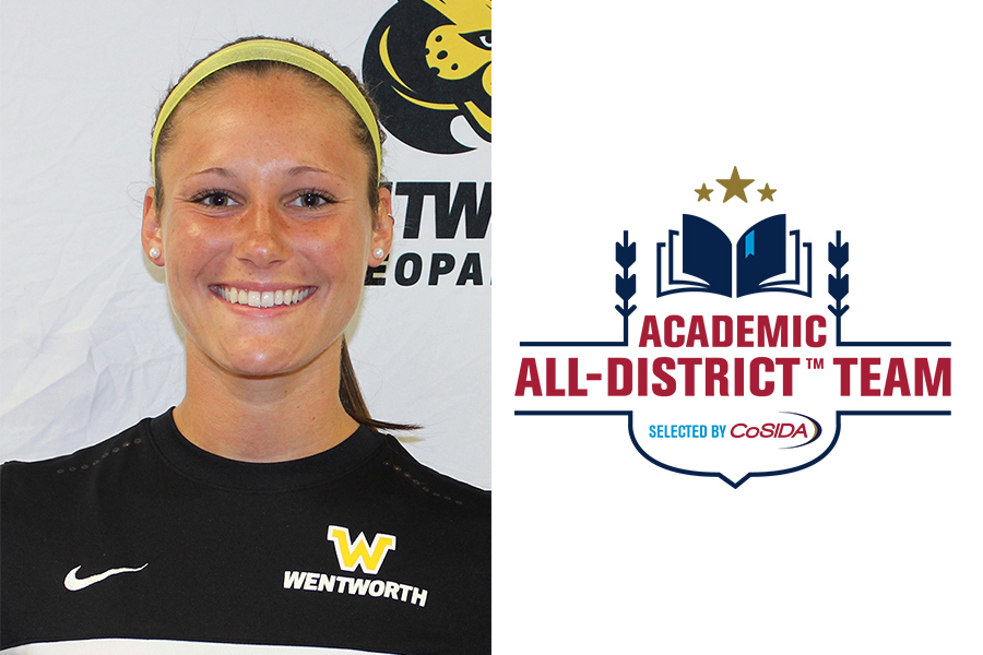 Perras Named to Academic All-District Team