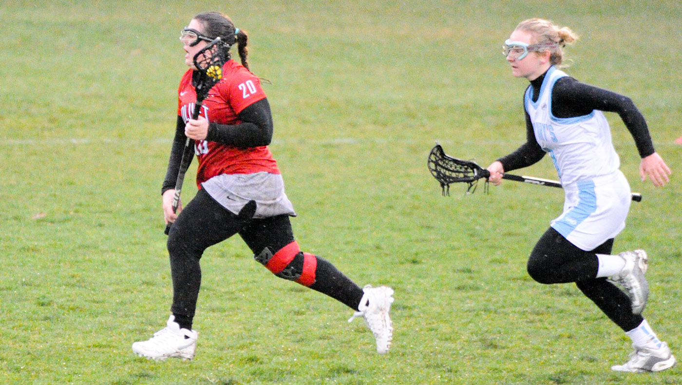 Women's lacrosse team toppled by Trine, 17-0