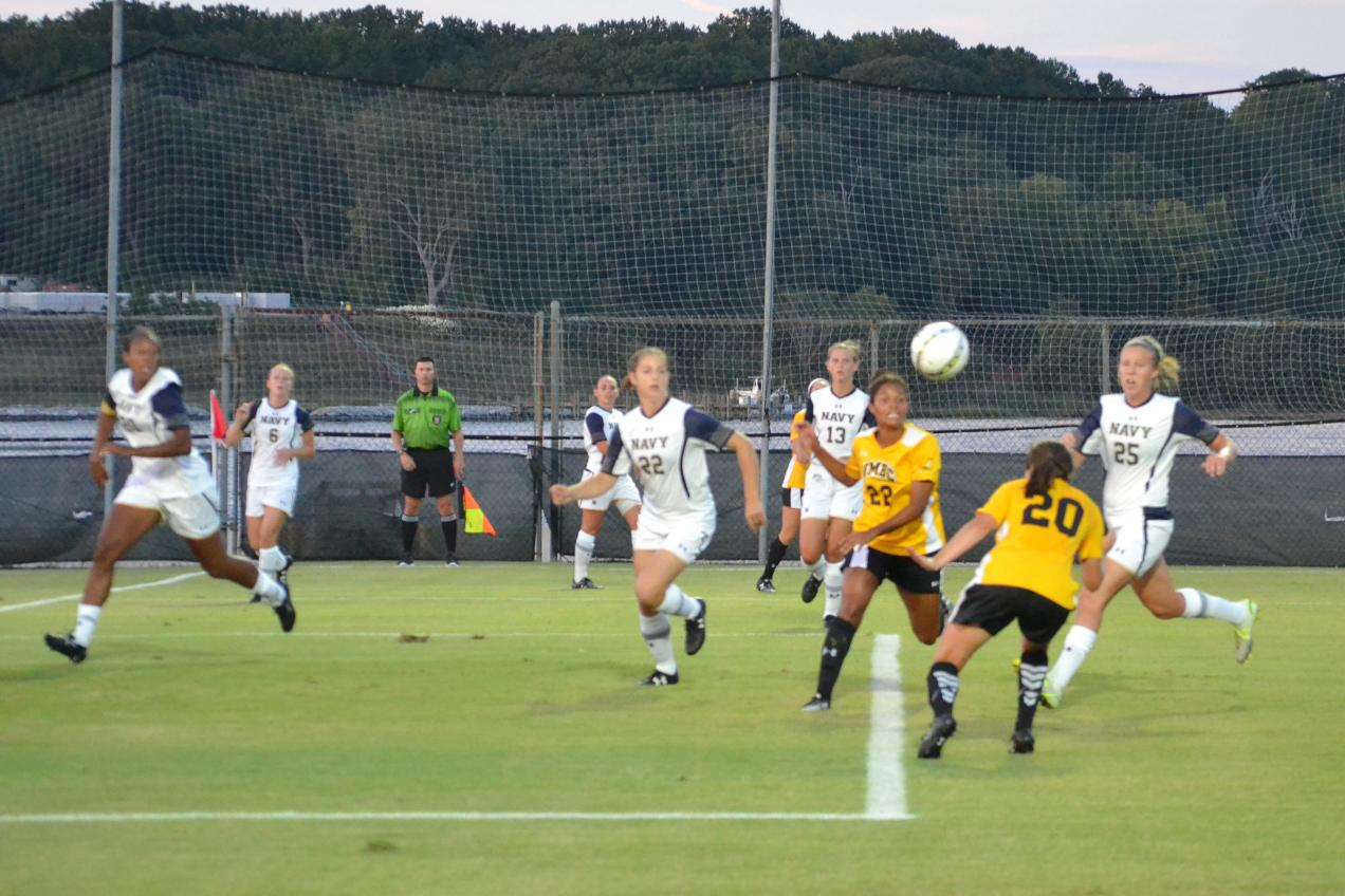 UMBC Women's Soccer Edged By Navy in Season Opener