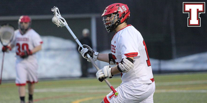 Men's Lacrosse Drubbed by Monks; Enter NAC Tournament as Six Seed
