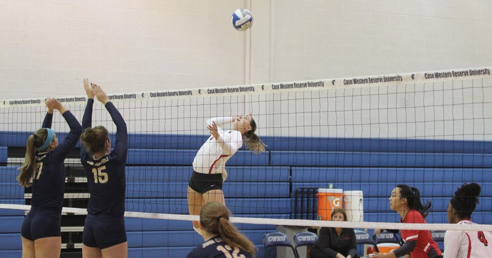 #24 Volleyball Continues Winning Way with 3-0 Win Over John Carroll