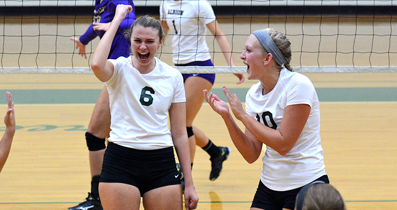 @DubC_Volleyball drops a pair of matches