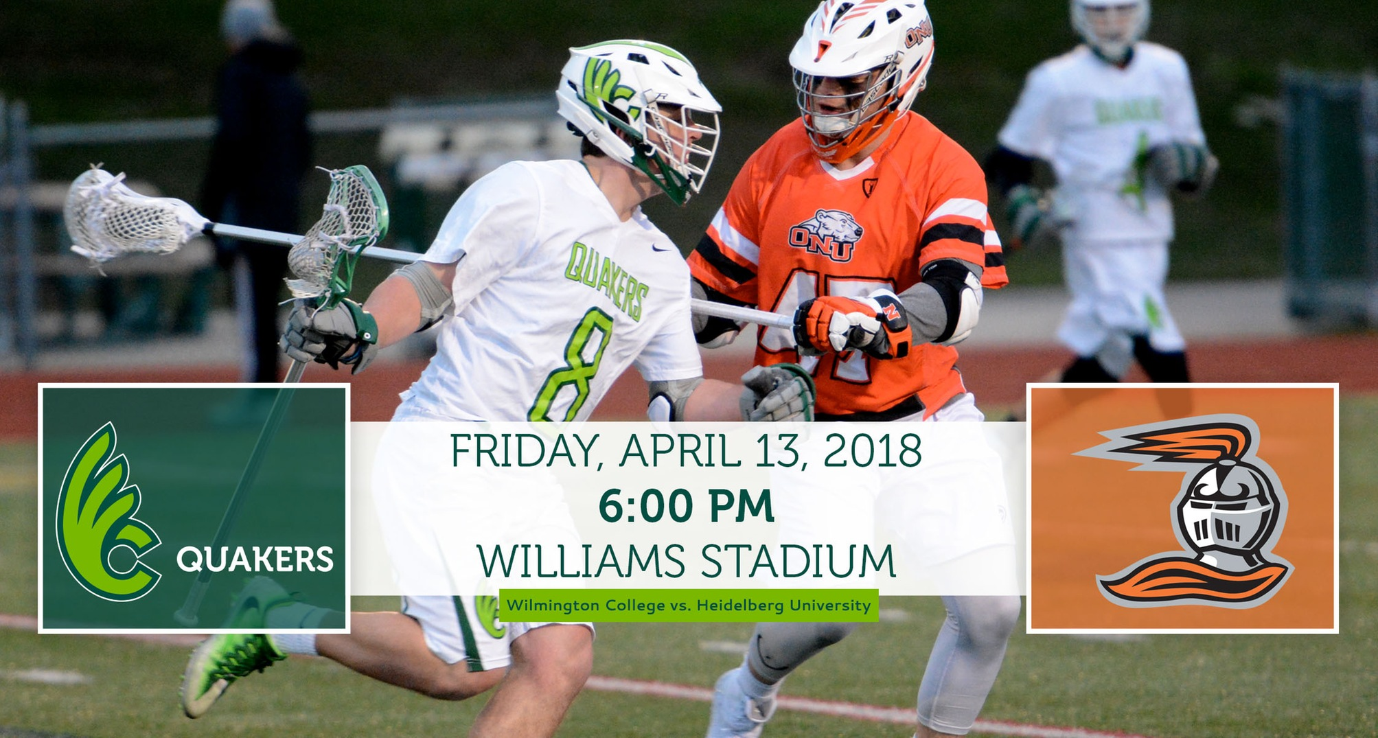 Men's Lacrosse Hosts Heidelberg Friday