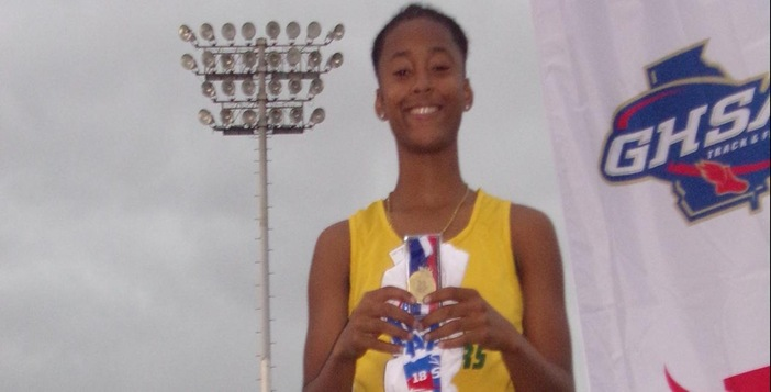 Cornesha Cannady Wins State Title in 5A High Jump