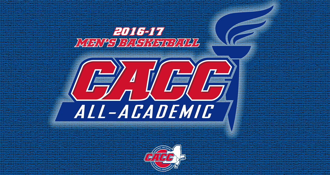 Thirteen Student-Athletes Named to 2016-17 CACC Men's Basketball All-Academic Team
