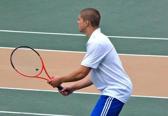 Coast Guard tennis routs Roger Williams 8-1