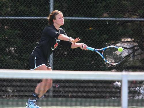 CUA Women's Tennis Outlast Moravian 5-4