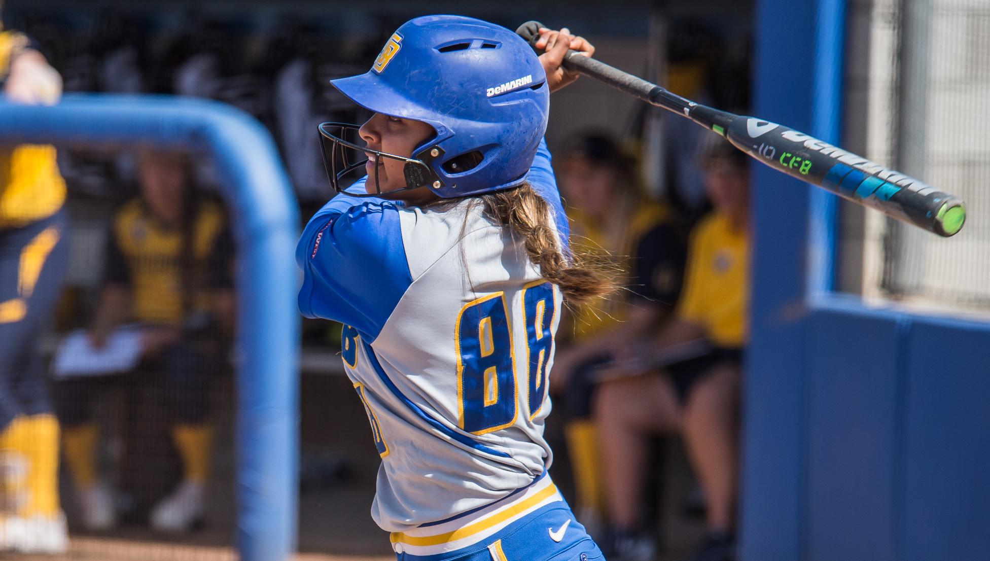 Menor Delivers Game-Winning Homer, Gauchos Split Doubleheader at Fullerton