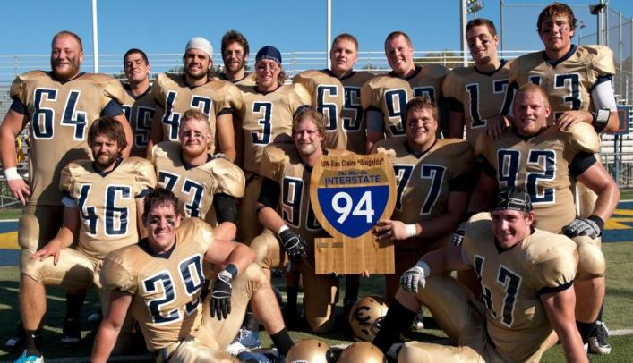 Football Celebrates Homecoming with Win Over UW-Stout