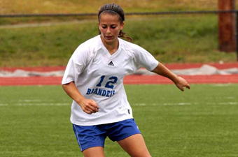 Strong second half lifts women's soccer over Case, 4-0, in UAA action