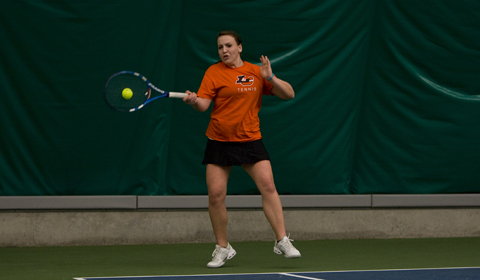 Women's Tennis Defeats Willamette 6-3 in NWC Action