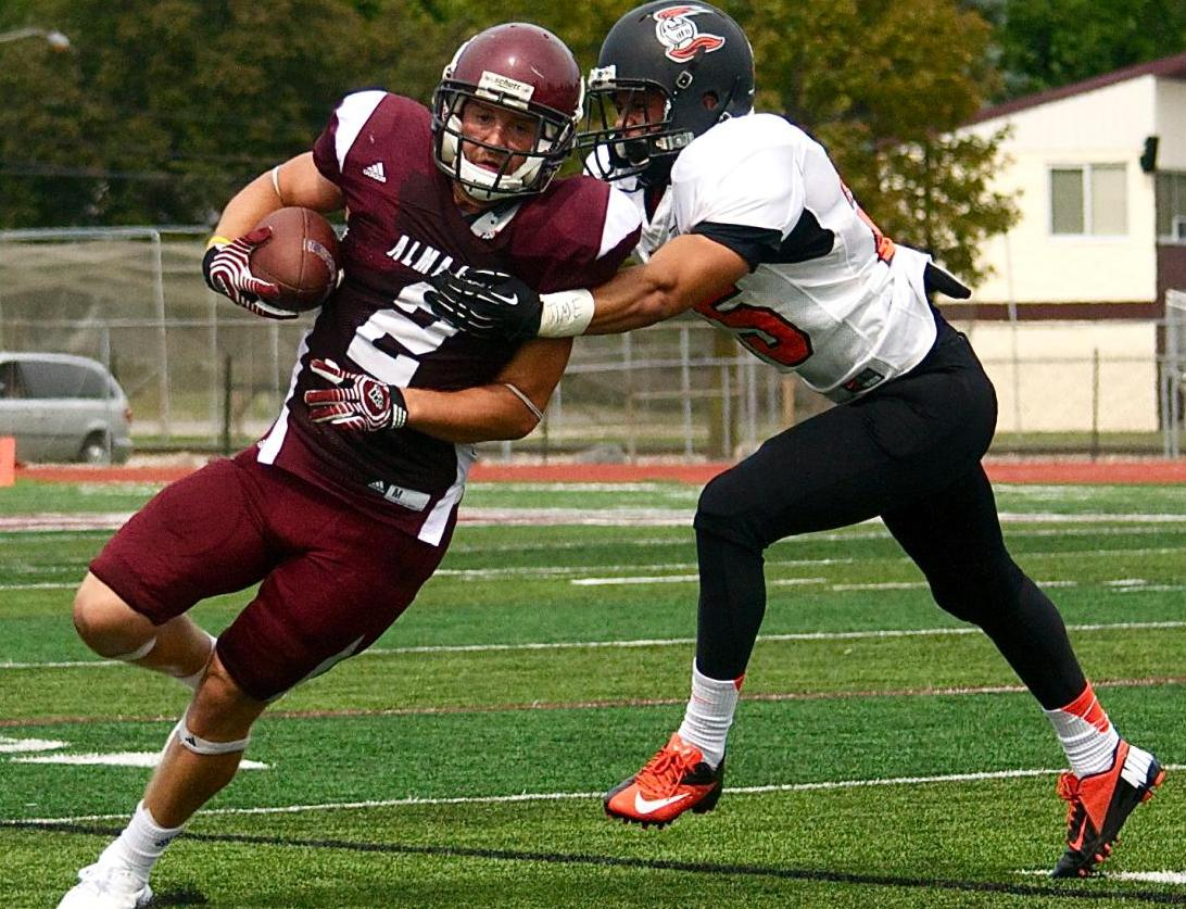 Football falls in season opener 45-0 to Heidelberg