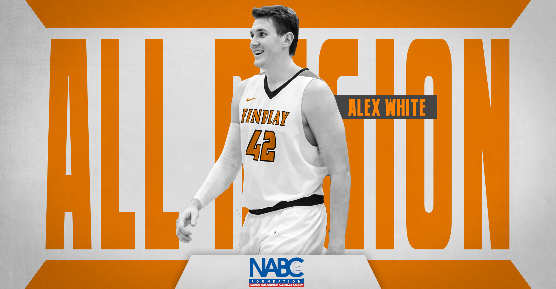 White Earns All-Region Honors from NABC