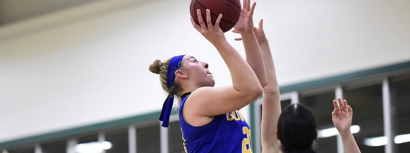 Wolard Notches Double-Double For Goucher Women's Basketball Against Drew