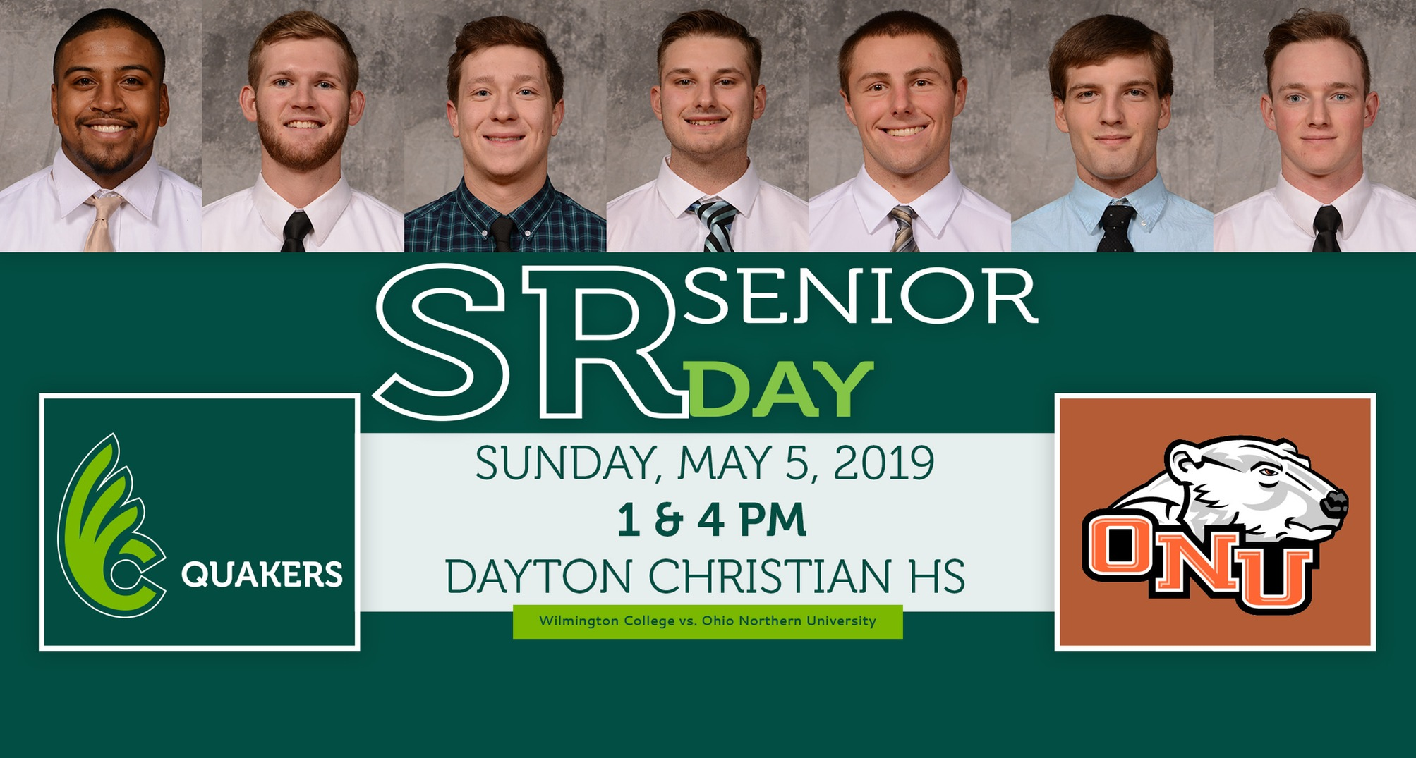 Baseball Hosts ONU on Senior Day Saturday