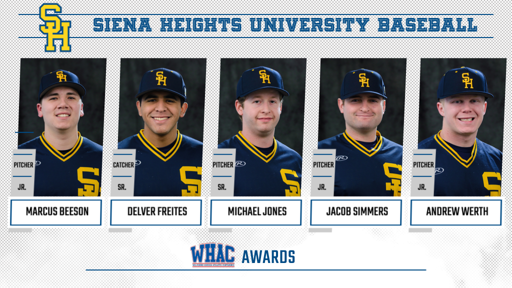 Five Saints Honored in WHAC Baseball Awards