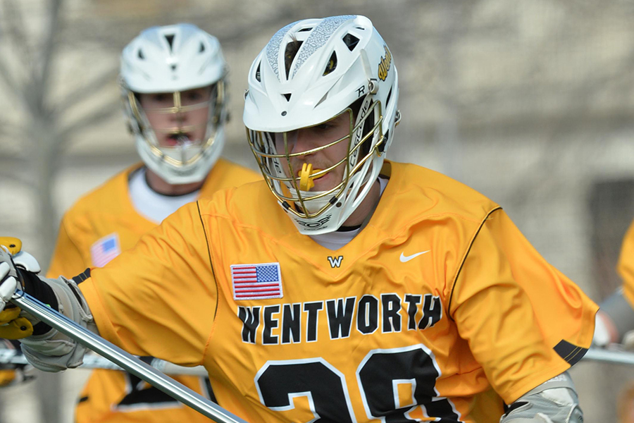 Men's Lacrosse Doubled up in Season Finale