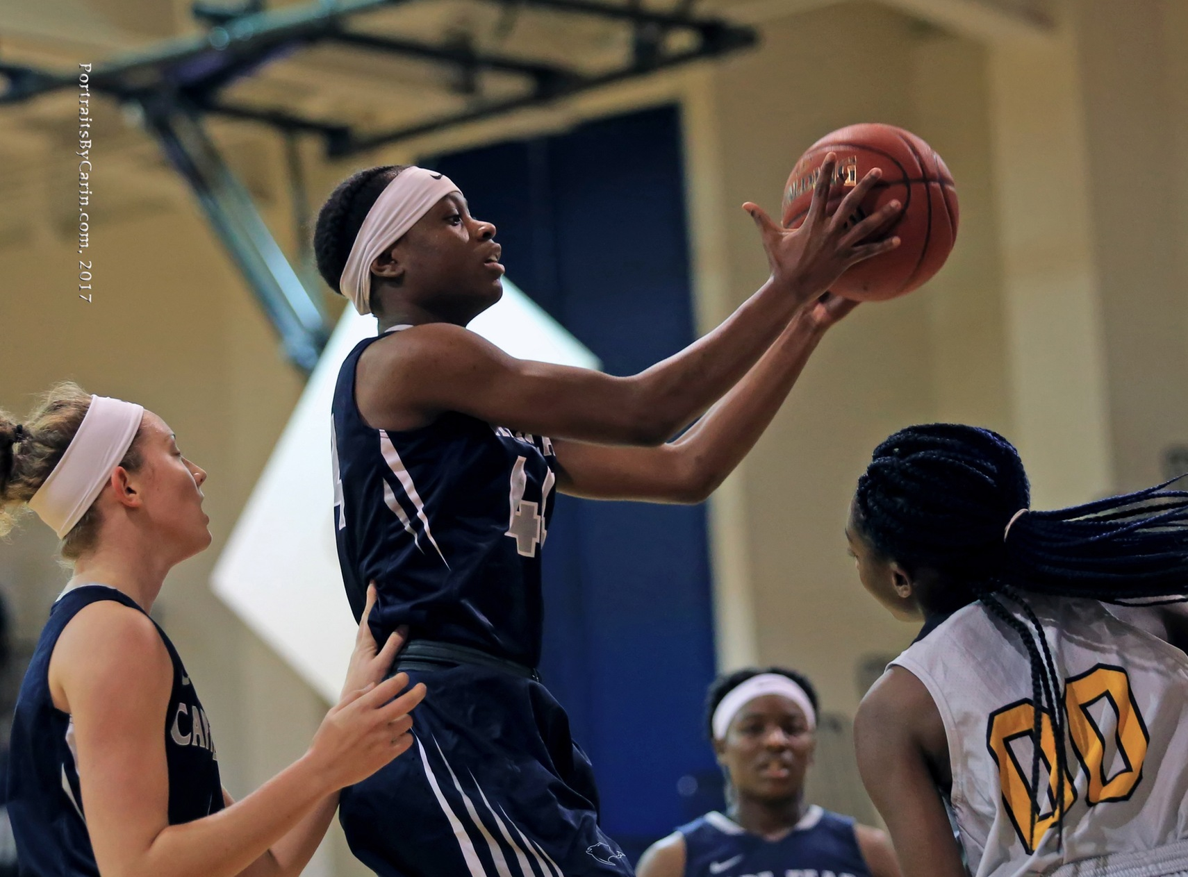 Lady Sea Devils Win Big on the Road