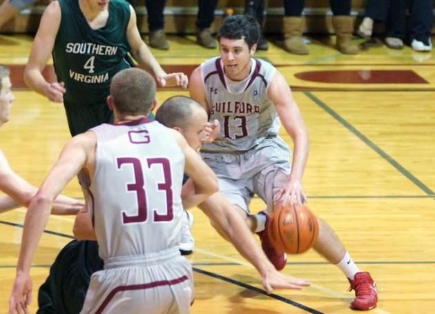 Guilford Men Win Fifth Straight, 84-61, at Methodist