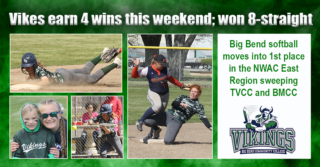 Big Bend softball won its 8th-straight game this weekend.