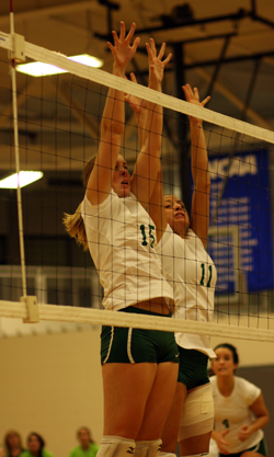 Wellesley Downs Volleyball, 3-0, On Senior Night
