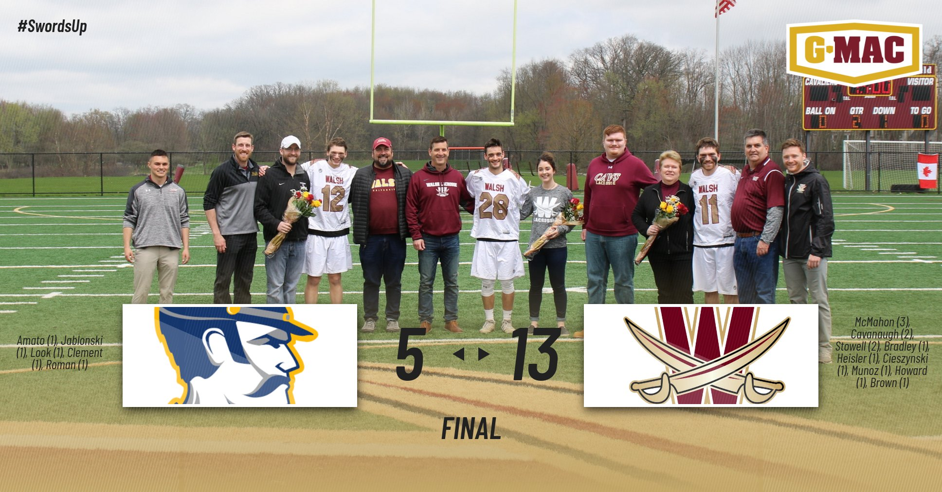 Huge Fourth Quarter Leads Cavaliers to Senior Day Win