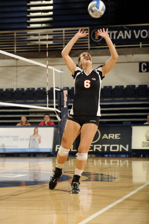 cal state fullerton volleyball  julie consani