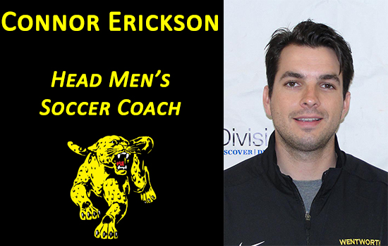 Erickson Named Head Men's Soccer Coach