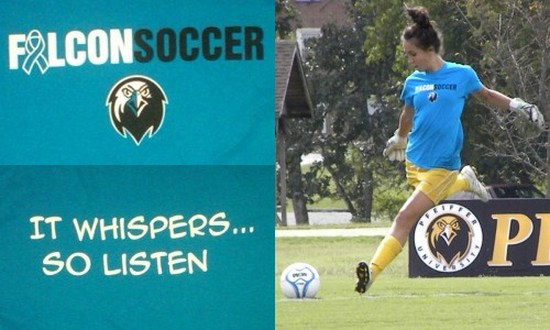 Women's Soccer to Raise Awareness for Ovarian Cancer All Month Long; Teal T-Shirts and Guest Speaker to Help Out