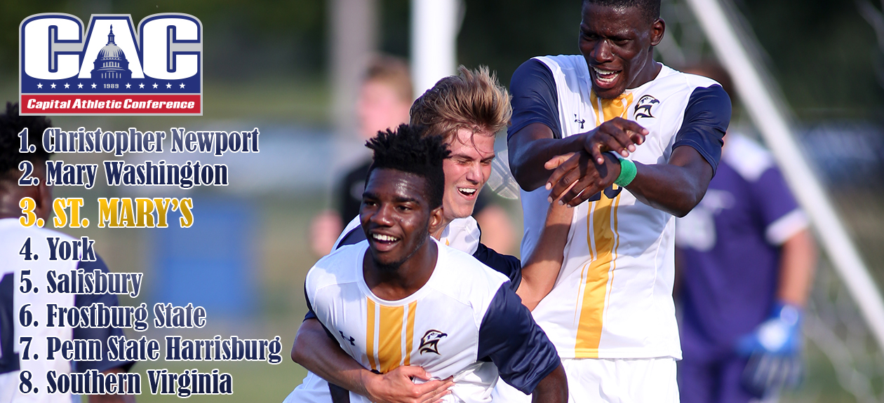 Seahawk Men's Soccer Projected to be Third in CAC Preseason Poll