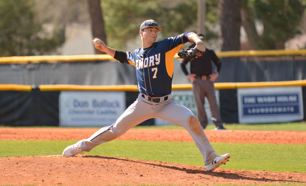 Baseball Tops No.-13 Case Western Reserve in UAA Opener Behind Brereton's Complete Game