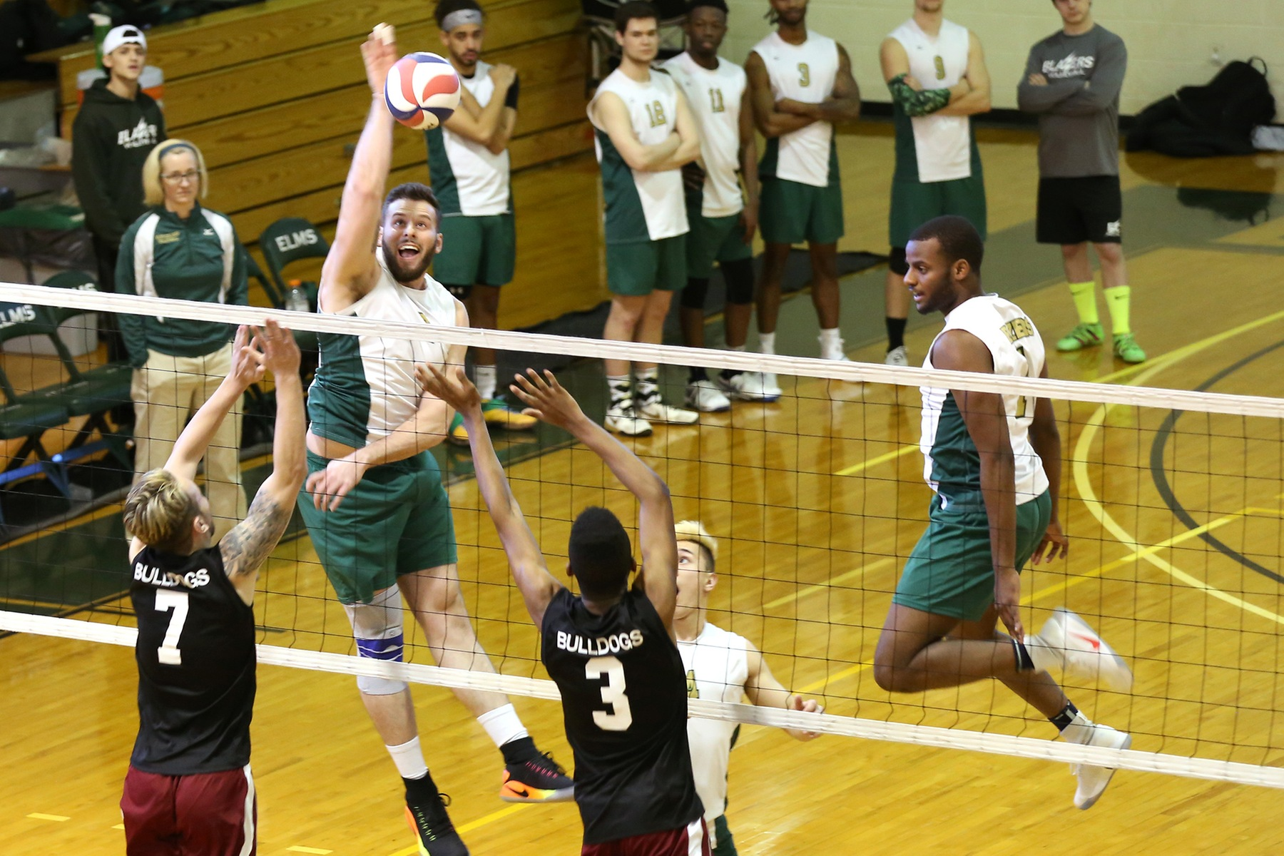 Men's Volleyball Punches Ticket To NECC Title Match
