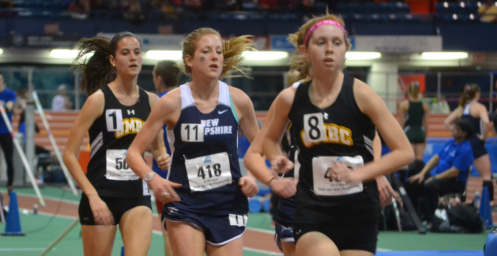 Distance Athletes Open Weekend for UMBC Track and Field at ECAC/IC4A Championships