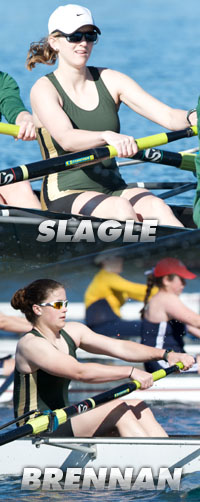 ROWING ADVANCES VARSITY EIGHT AND SECOND VARSITY EIGHT TO DAD VAIL SEMIFINALS