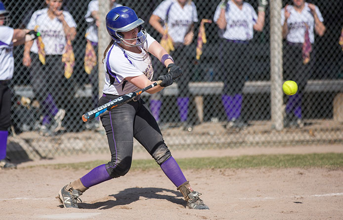 Softball takes lead in 10th before suffering walk-off loss to Merrimack, 5-4