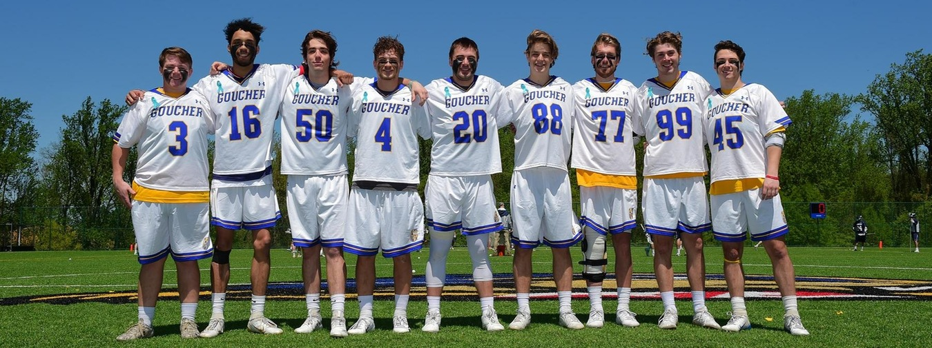 Goucher Men's Lacrosse Celebrates Seniors, Drops Heartbreaker In OT To Drew