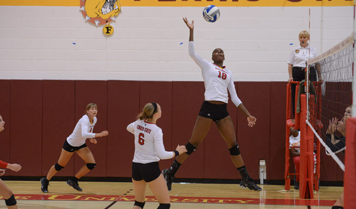 Ferris State's Angi Kent Claims All-Tourney Team Honors After Missouri Trip