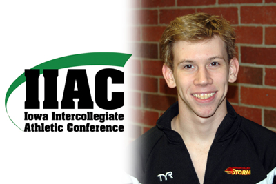 Tillison named IIAC Swimmer of the Week
