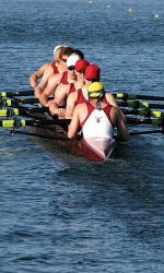 Men's Crew Continues Winning Streak at Sacramento State Invitational