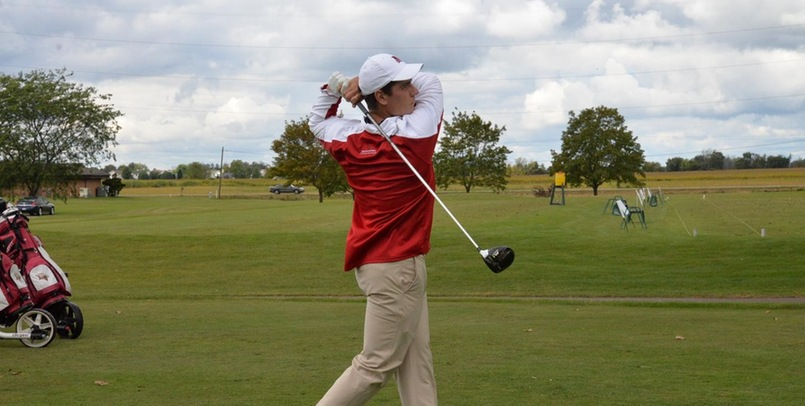 Senior Ryan Peruski holds a share of the first round lead after his 67 (-5) at the Al Watrous Invite...
