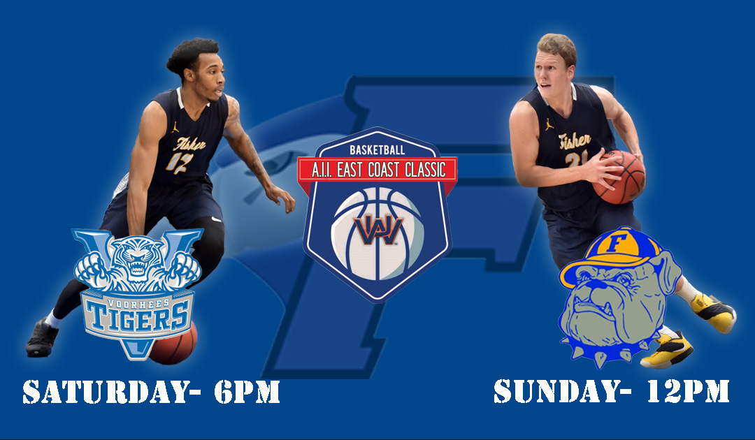 Men's Basketball To Play In The A.I.I. East Coast Classic This Weekend
