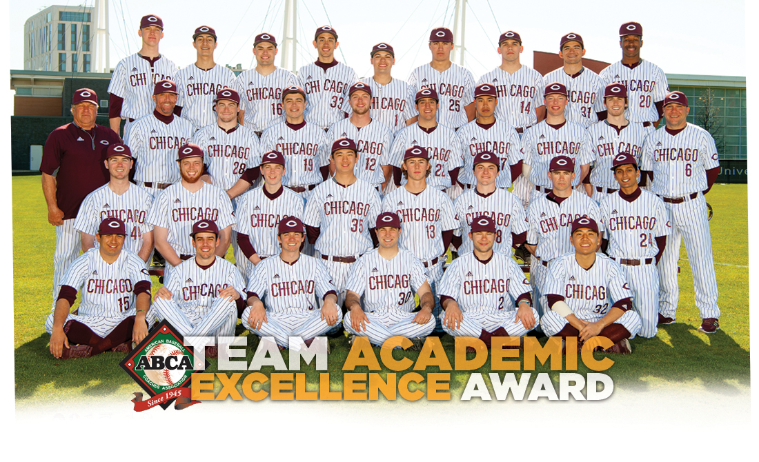 UChicago Baseball Hauls in ABCA Team Academic Excellence Award