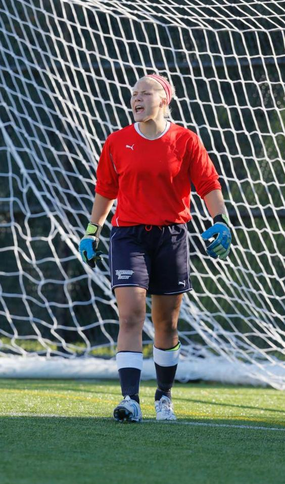 Levesque Makes Eight Saves For Eighth Career Shutout As Women's Soccer Plays Scoreless Draw At SUNY-Maritime