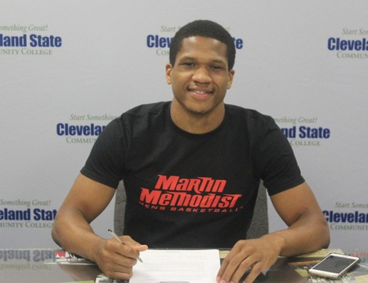 JORDAN OLISON WILL CONTINUE CAREER AT MARTIN METHODIST