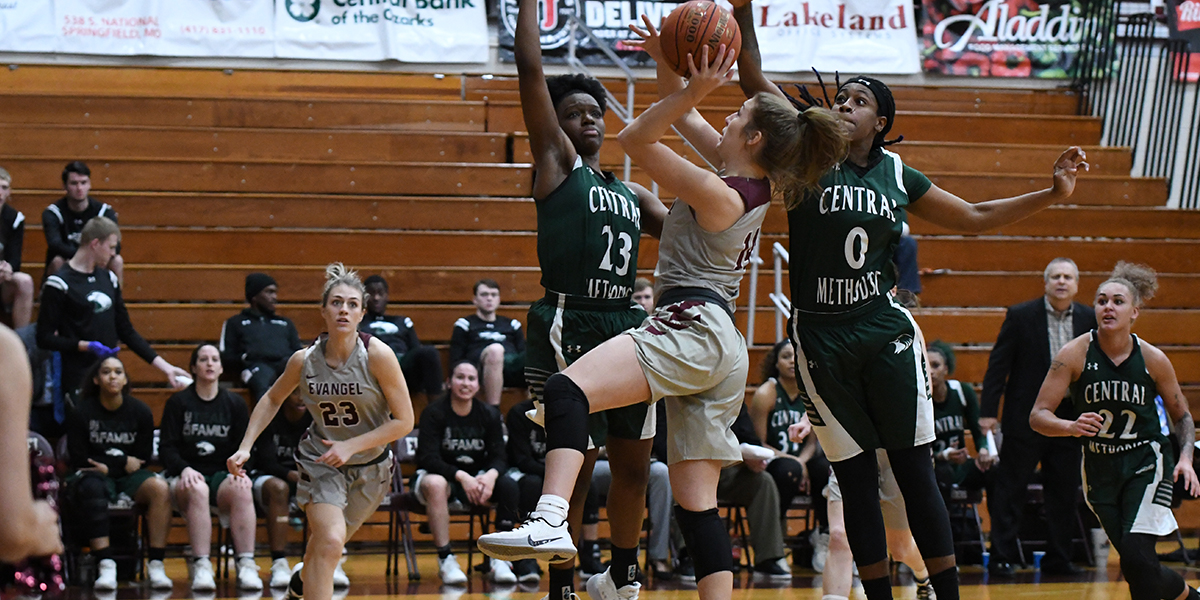 Evangel Women's Basketball Heads to Peru State Looking to Get Back in Win Column
