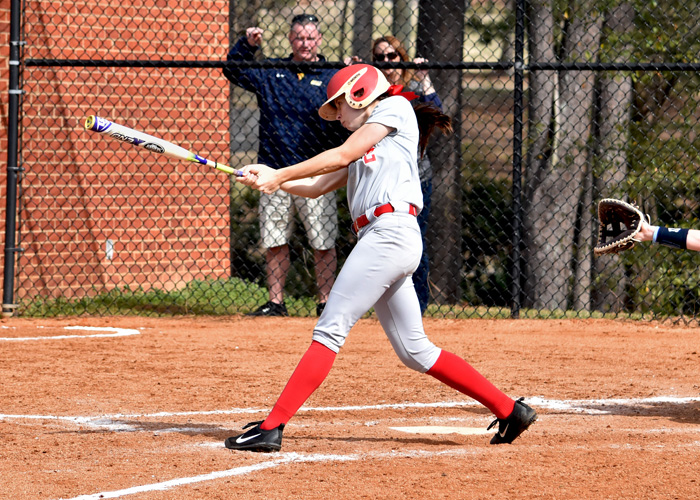 Lindsey Selph had two hits, an RBI and a run in Thursday's loss to Averett in the USA South Athletic Conference Tournament.
