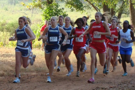 Lady Hurricanes move up at conference meet