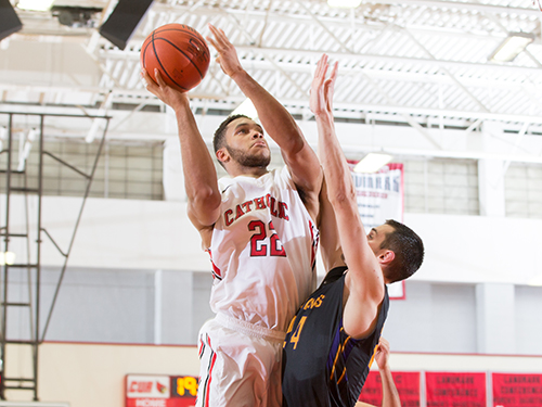 CUA Takes Over First in the Landmark with Win Over Goucher, 67-63