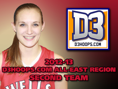 Roser Selected To D3Hoops.com All-East Region Second Team